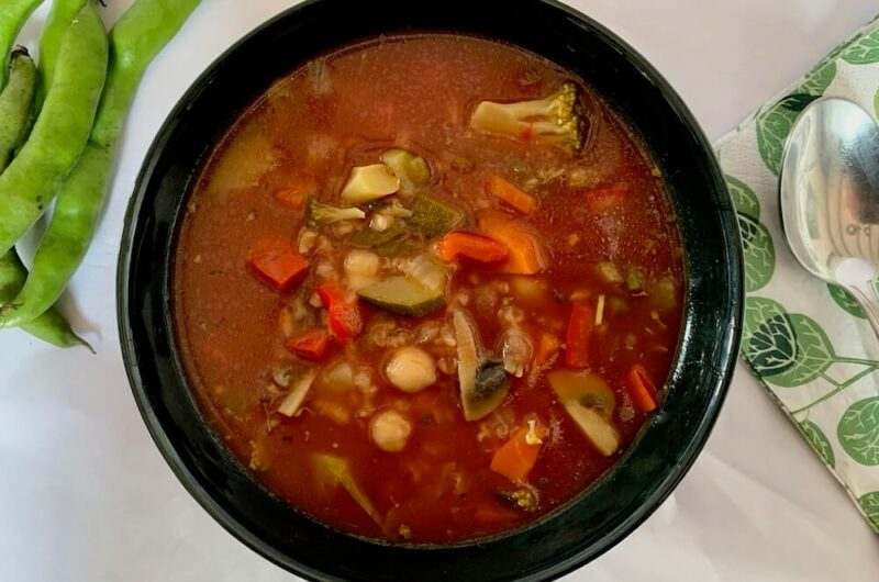 Easy Vegan Vegetable Soup