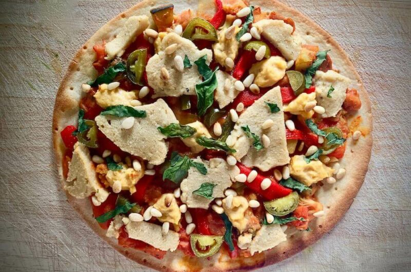 Gluten Free Vegan Pizza - Cheat Sheet Version