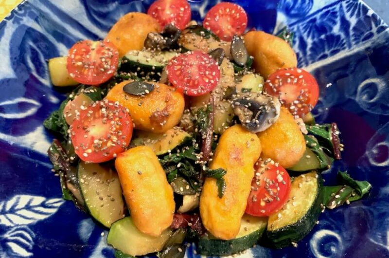 Homemade Vegan Gnocchi with Pumpkin & Sweet Potato