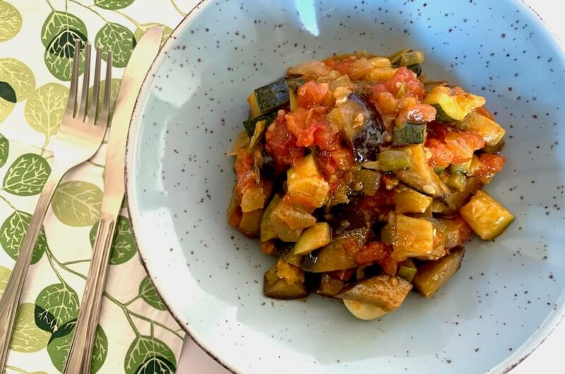 Spanish Pisto Recipe - Vegan Style