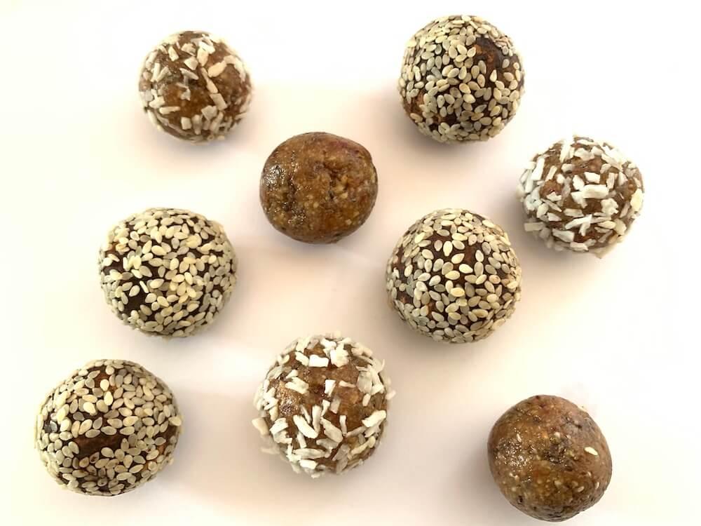 No bake protein energy balls