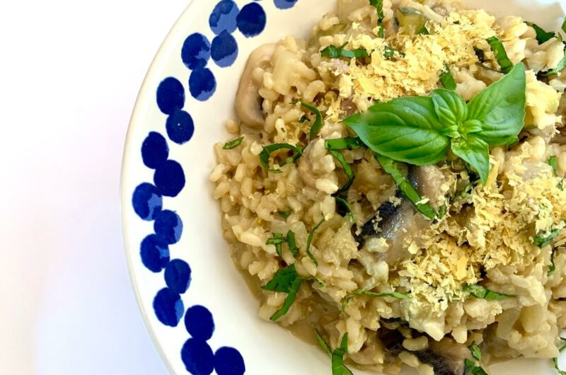 Easy Vegan Risotto Recipe