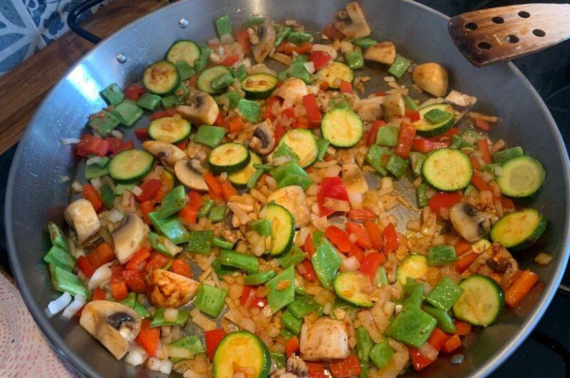 How to Make Spanish Paella - Vegan Version